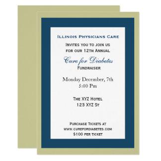flott företags partyinbjudan 12,7 x 17,8 cm inbjudningskort