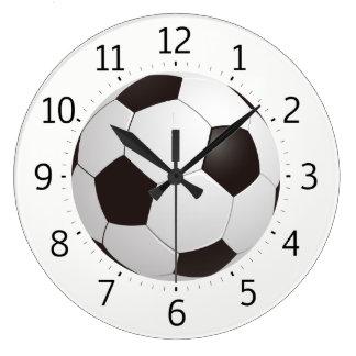 Flott gåvor för coola för fotbollboll | stor klocka