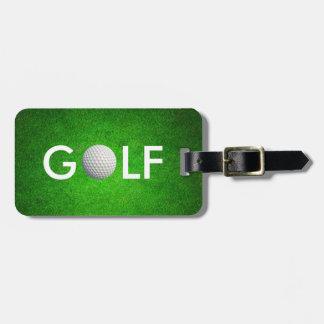 Flott Golfbagagemärkre Bagagebricka