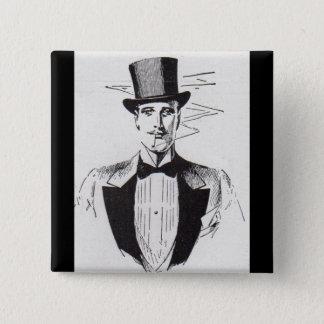 Flott Herr, korpåkläddman Standard Kanpp Fyrkantig 5.1 Cm
