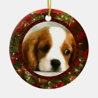 Flott jul - tillfoga ditt egna husdjur, eller julgransprydnad keramik