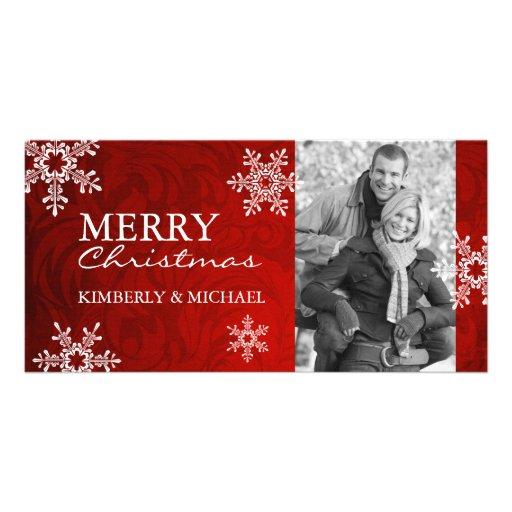 Flott julfotokort anpassade foto kort