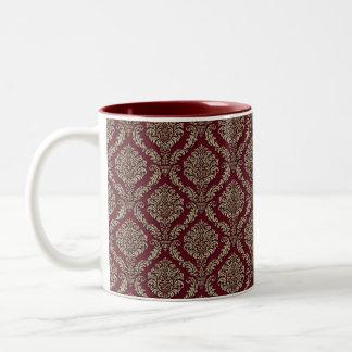 Flott kaffemugg för röd Tapestry
