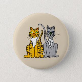 Flott katter knäppas standard knapp rund 5.7 cm