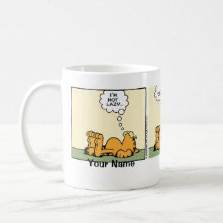 """Flott lat"" Garfield komisk remsa Kaffemugg"