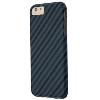 Flott mörk Aqua & marinblått beställnings- fodral Tough iPhone 6 Plus Skal