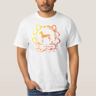 Flott red ut Xoloitzcuintli T Shirt