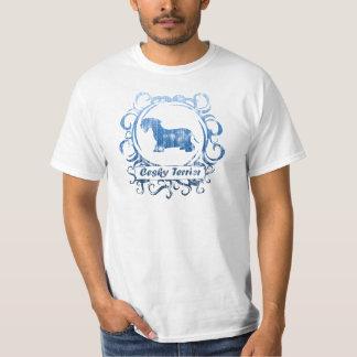 Flott riden ut Cesky Terrier Tshirts