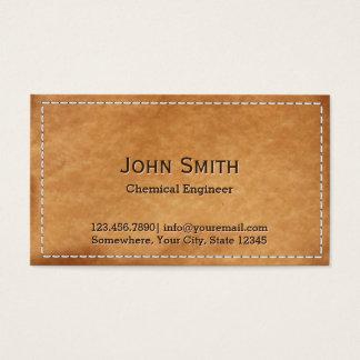 Flott sydd kemisk ingenjör för läder visitkort