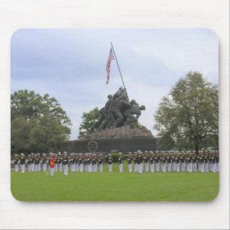 Flottor på den Iwo Jima statyn Mousepad Musmatta