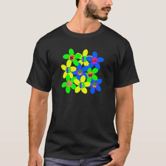Flower power 60s-70s 2 t-shirts