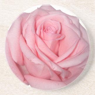 Flower power för Wellcoda rosa rosromantiker Underlägg Sandsten