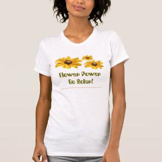 Flower power går sol-! Skjortor Tee
