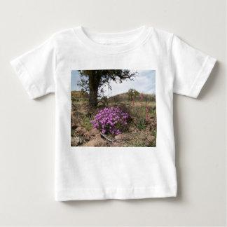 Flower powerspädbarn t-shirts