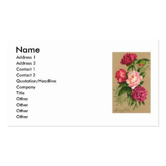 Floweres visitkort