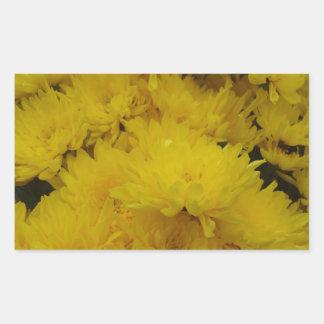 Flowers-003.JPG Rektangulärt Klistermärke
