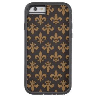Fluer Des Lis Chocolat Chaud Tough Xtreme iPhone 6 Fodral