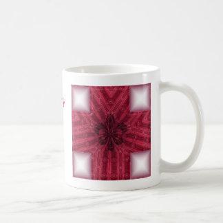 Fluer Röda kor Kaffemugg
