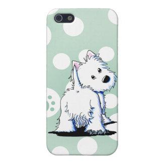 Fluffybutt Westie iPhone 5 Fodraler