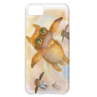 Fluga för kaninflugafluga iPhone 5C fodral