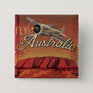 Fluga till Australien Standard Kanpp Fyrkantig 5.1 Cm