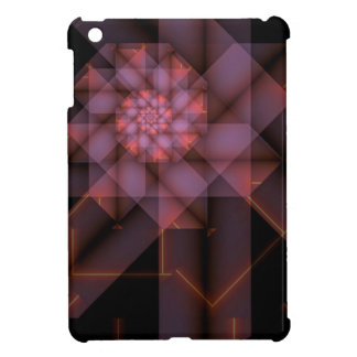 Fluorescerande geometri iPad mini mobil fodral