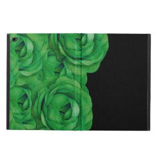 Fluorescerande gröna ro powis iPad air 2 skal