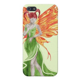 Flutterby Fae (murgröna) fodral iphone4 iPhone 5 Fodral