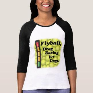 Flyball är friktionstävla för hundar! tshirts