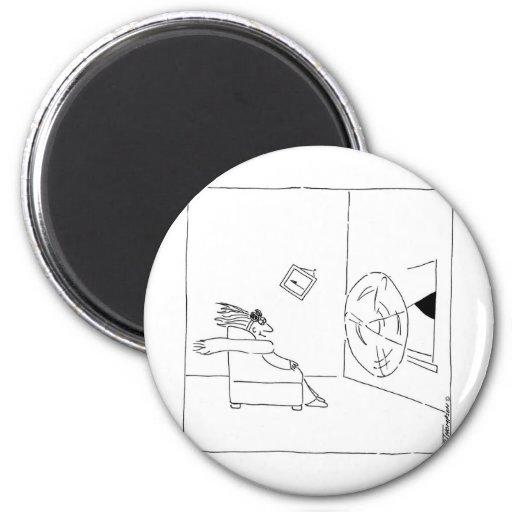 flyg- fläkt magnet för kylskåp