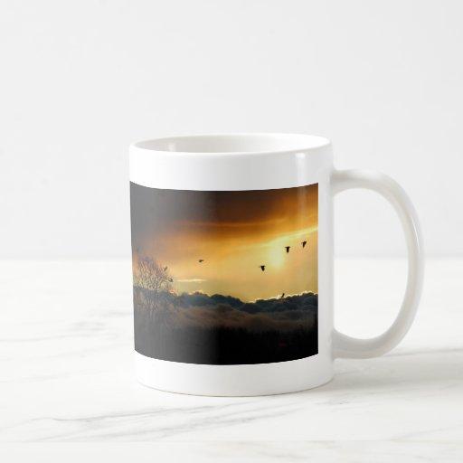 flyg kaffe mugg