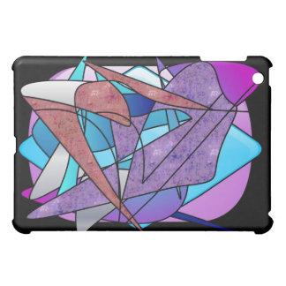 """""""Flyg"""" - original- målat glasskonst i-Vadderar iPad Mini Mobil Fodral"""