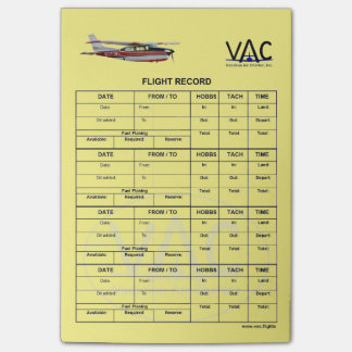 Flyg som rekord- N777WL Postar-it®, noterar 4 x 6 Post-it Block