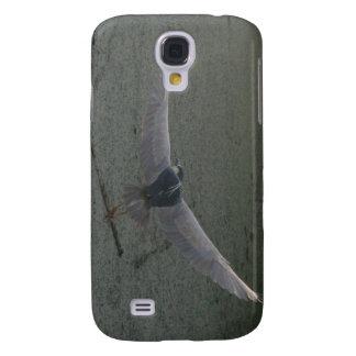 Flyga denKrönade Natt-Heronen Galaxy S4 Fodral