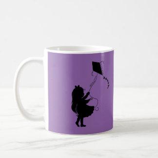Flyga en drake kaffemugg