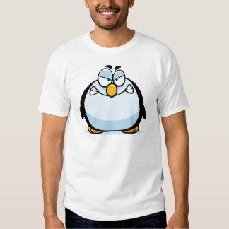 Flyget kastar snöboll pingvinT-tröja Tröjor