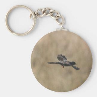 FlygFinch Rund Nyckelring