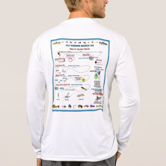 Flygfiske 101 tee shirts