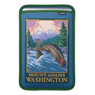 Flygfiskeplats - montering Adams, Washington MacBook Air Sleeve