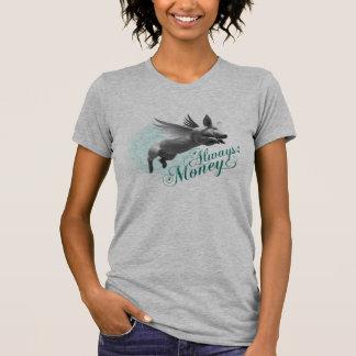 Flyggris (kvinna grå färg) tee shirts