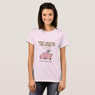 Flyggrisen Snitt-Vad drömm, göras av T-shirt