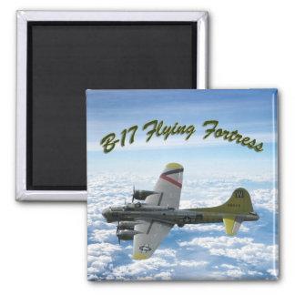 Flygplan för bombplan för fästning WWII för flyg Magnet