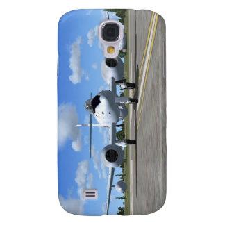 Flygplan för kämpe för Gloster Meteorjet Galaxy S4 Fodral
