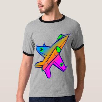 Flygplan för kämpe för jet för Corey tiger80-tal T Shirts