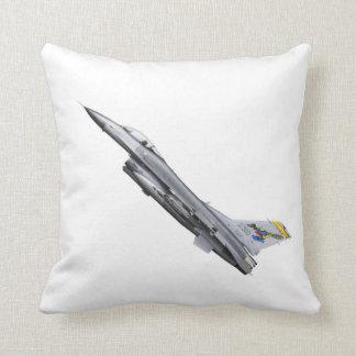 Flygplan för kämpen för U.S.A.F.-F16-jeten kudder Kudde