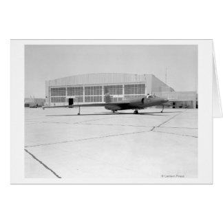 Flygplan för spion U-2 med fiktiv NASA-teckning Hälsningskort