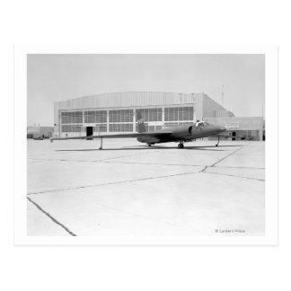 Flygplan för spion U-2 med fiktiv NASA-teckning Vykort