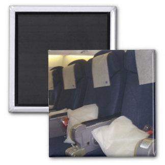 Flygplan placerar magnet