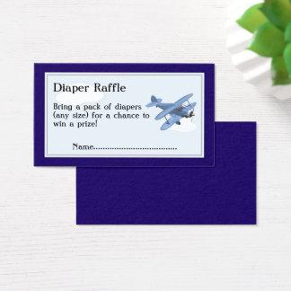 Flygplanblöjarafflen etiketterar, moln och himmel visitkort