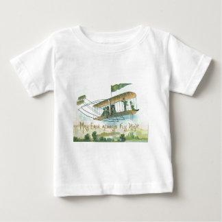 Flygplanreklambladharpa av Erin Irland bygd Tee Shirt
